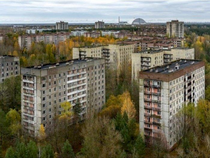 Seperti Kota Hantu, Begini Kondisi Mencekam Kota Pripyat di Ukraina