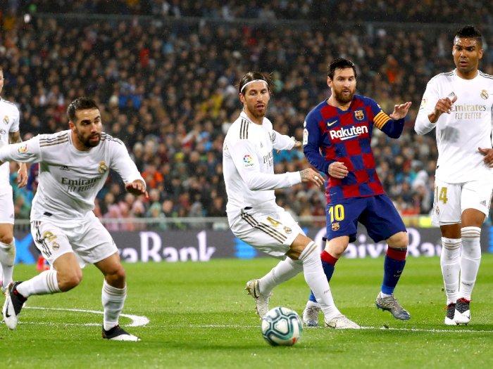 Liga Spanyol Resmi Ditangguhkan Tanpa Batas Waktu