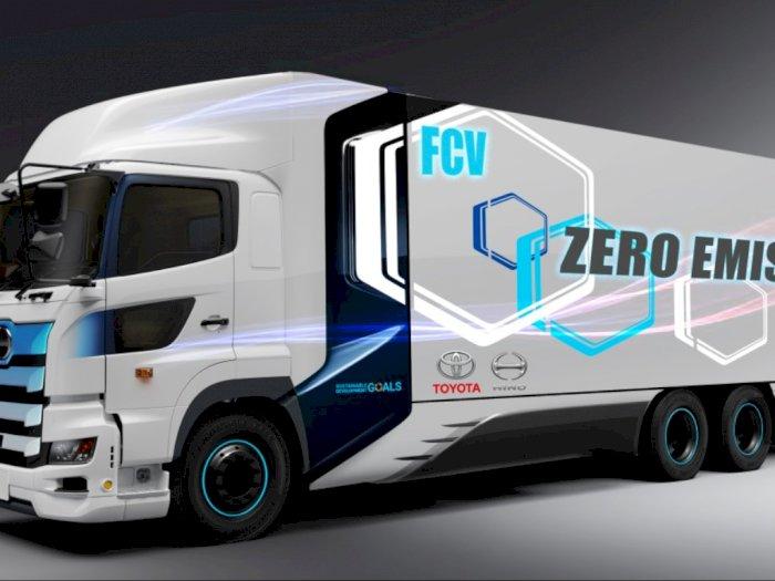 Toyota dan Hino akan Hadirkan Truk Bertenaga Hidrogen