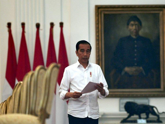 Presiden Jokowi Instruksikan Menteri Tetap Kerja di Jakarta