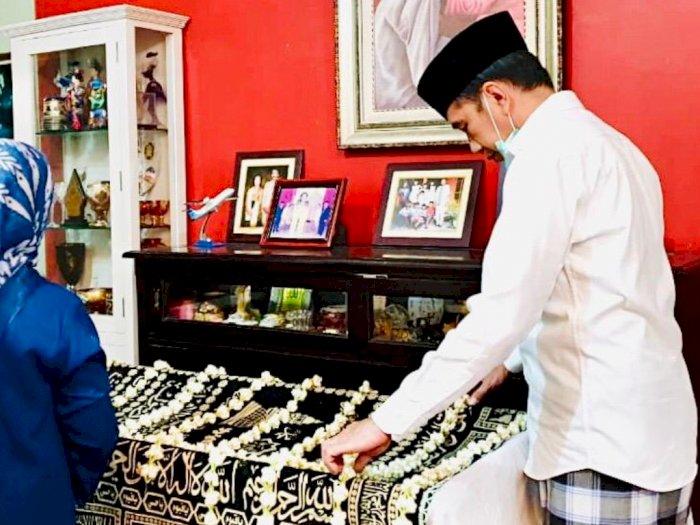 FOTO: Suasana Rumah Duka Ibunda Presiden Jokowi