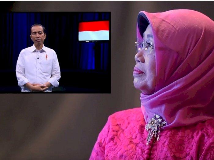 Video: Momen Haru Saat Ibunda Jokowi Dapat Kado Spesial di Hari Ibu