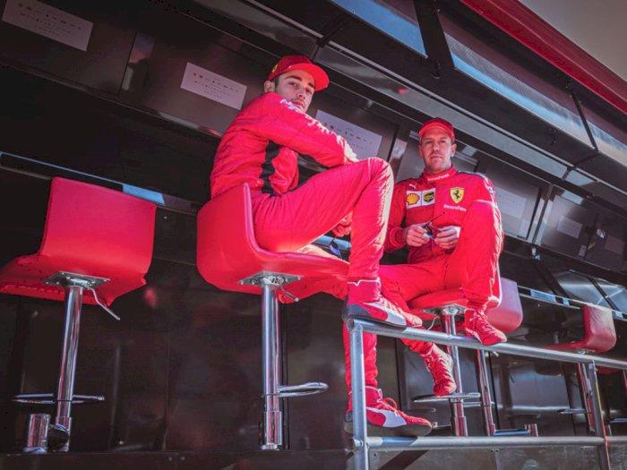 Charles Leclerc : Saya Hormati Keputusan Ferrari Soal Masa Depan Sebastian Vettel