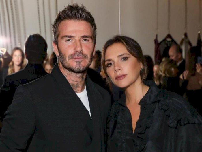 Ikut #Dirumahaja, Pasangan David dan Victoria Beckham Seru-seruan Bikin Kue Bareng