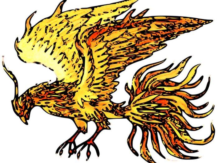 Burung Api 'Phoenix' dalam Mitologi Yunani