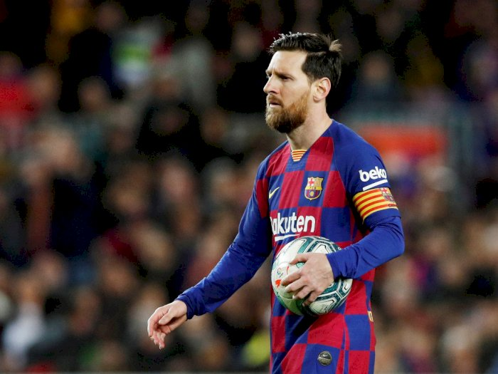 Lionel Messi Bantah Pemain Barcelona Tak Setuju Potong Gaji