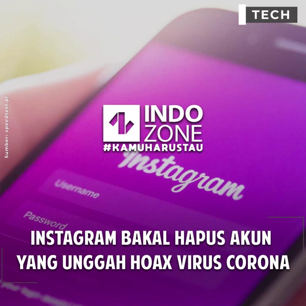 Instagram Bakal Hapus Akun Yang Unggah Hoax Virus Corona
