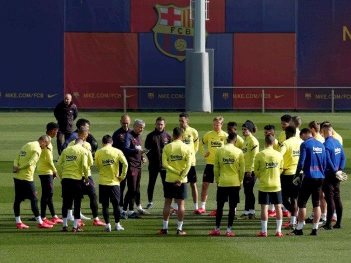 Gaji Pemain Barcelona Bakal Dipotong 72 Persen!