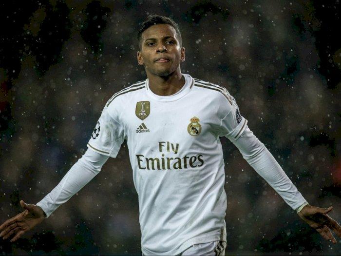 Sebelum Gabung ke Real Madrid, Rodrygo Minta Restu ke Pele