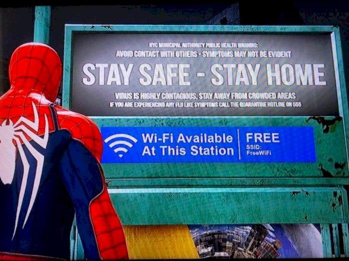 Virus Mirip Corona Pernah Muncul di Game PS4 Marvel's Spiderman?