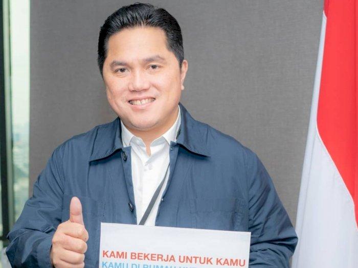 Erick Thohir: Isolasi Diri Sama dengan Menjaga Negeri