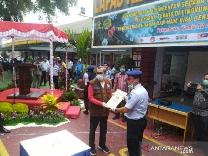 2.000 Napi di Riau Keluar Dari Penjara