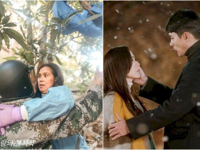 5 Potret Kocak Pasangan Asal Filipina Saat Tirukan Adegan Film 'Crash Landing on You'