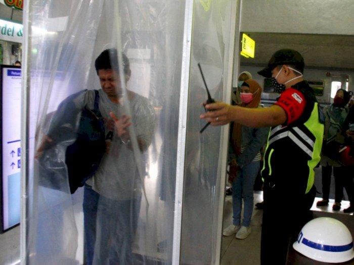 Kementerian Kesehatan Tak Anjurkan Penggunaan Bilik Disinfeksi