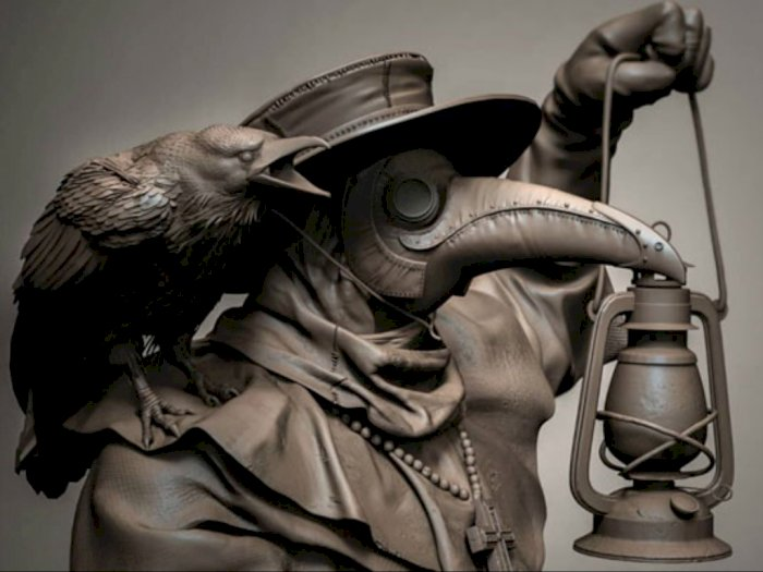 Tangkal Virus Corona, Haruskah Pakai Kostum Plague Doctor Seperti di Abad 17?