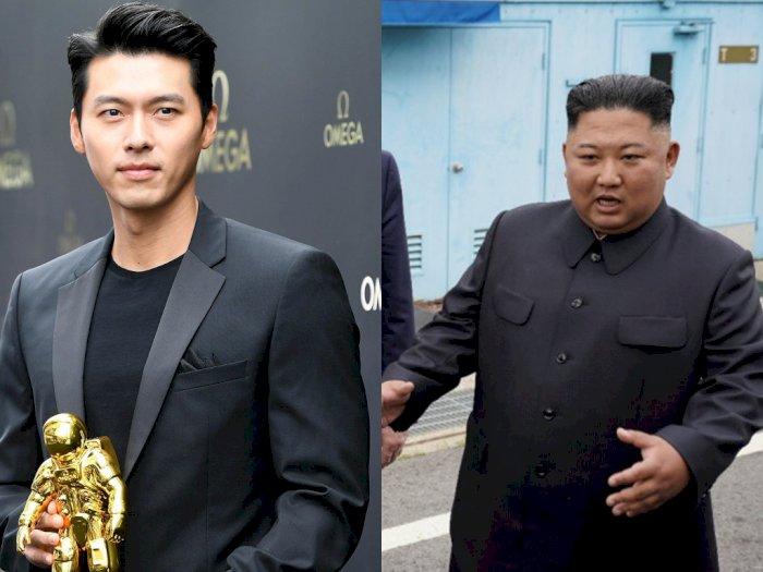 Di Korut, Hyun Bin Dianggap Kalah Ganteng dari Kim Jong Un