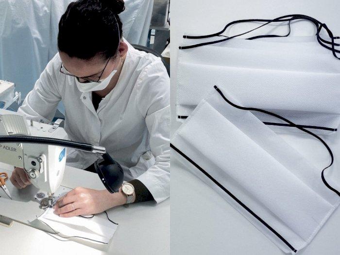 Setelah Produksi Hand Sanitizer untuk Cegah Virus Corona, Kini Dior Memproduksi Masker