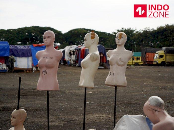 FOTO: Pasar Tasik yang Kini Sunyi karena Pandemi Virus Corona