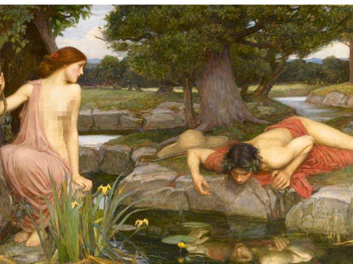 Kisah Cinta Echo dan Narcissus dalam Mitologi Yunani