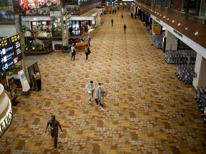 Salah Satu Terminal di Bandara Changi Ditutup