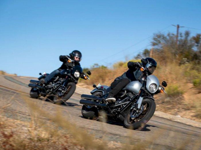 Motor Retro Anyar Harley-Davidson Tampil Lebih Sporty