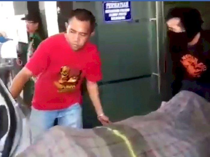 Penjelasan RSUD Syekh Yusuf Gowa Viral Video Keluarga Bawa Pulang Jenazah Naik Taksi
