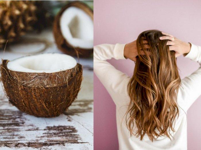 Santan Ternyata Bisa Bantu Atasi Rambut Bercabang