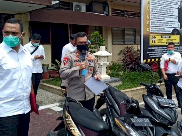Konvoi di Tengah Corona, Polrestabes Medan Amankan 20 Pemuda Geng Motor