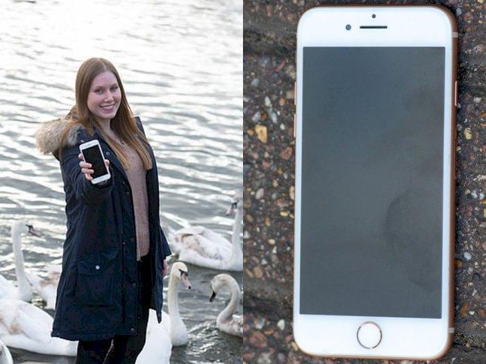 Meski 2 Bulan Jatuh ke Sungai, iPhone 8 Milik Wanita Ini Masih Berfungsi