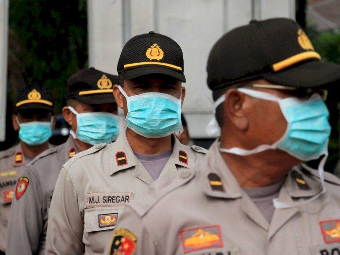 Tertibkan PSBB, Aparat Polisi Diminta Humanis