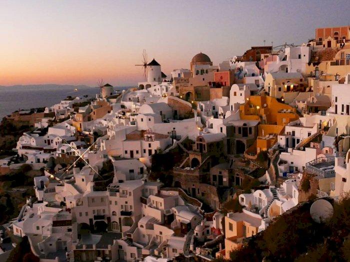 Lokasi Wisata Populer Santorini dan Mykonos Terapkan Lockdown Terbatas