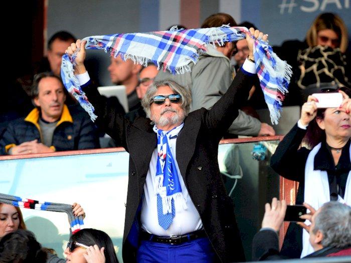 Massimo Ferrero Tak Setuju Laga Digelar Tanpa Penonton