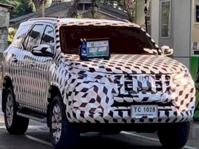 Ini Bocoran Spesifikasi Toyota Fortuner Facelift yang Segera Mengaspal