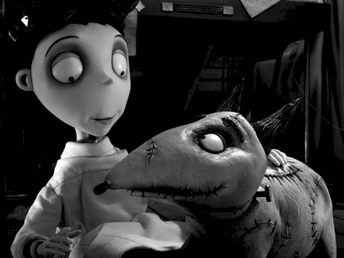 "Sinopsis dan Trailer Film Animasi ""Frankenweenie - 2012"""