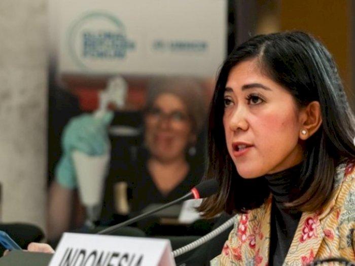 Meutya Hafid Mengimbau Semua Konferensi Pers Dilakukan Sesuai Protokol Kesehatan