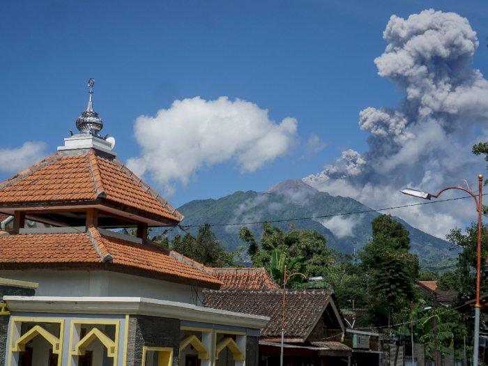Gunung Merapi Kembali Erupsi, Masyarakat Diminta Jangan Panik