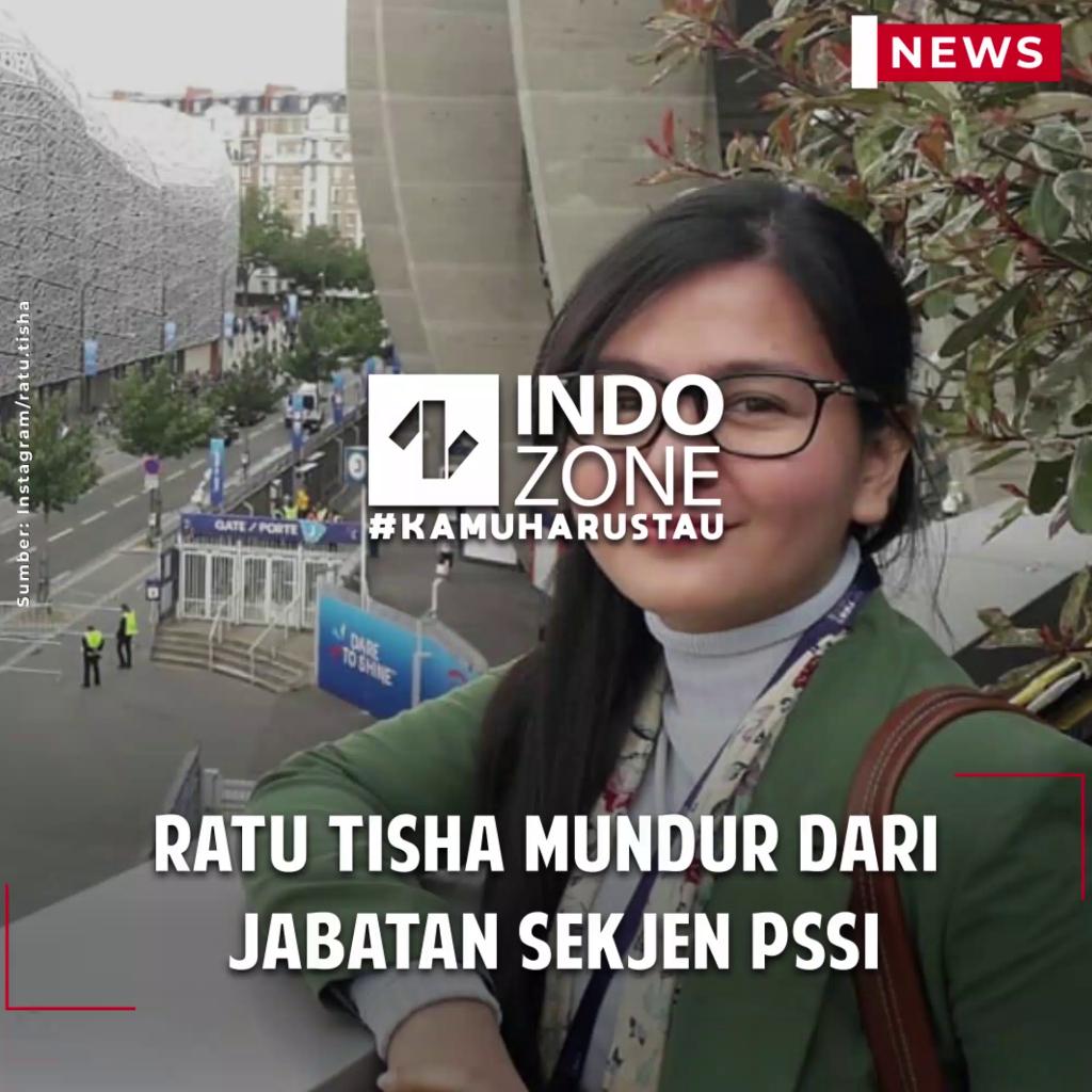 Ratu Tisha Mundur dari Jabatan Sekjen PSSI
