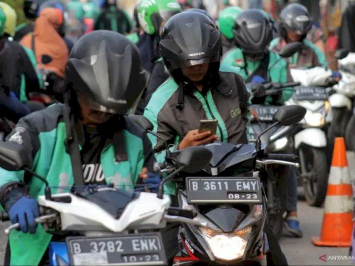 Dishub DKI: Ojol Tetap Dilarang Boncengan Selama PSBB di Jakarta