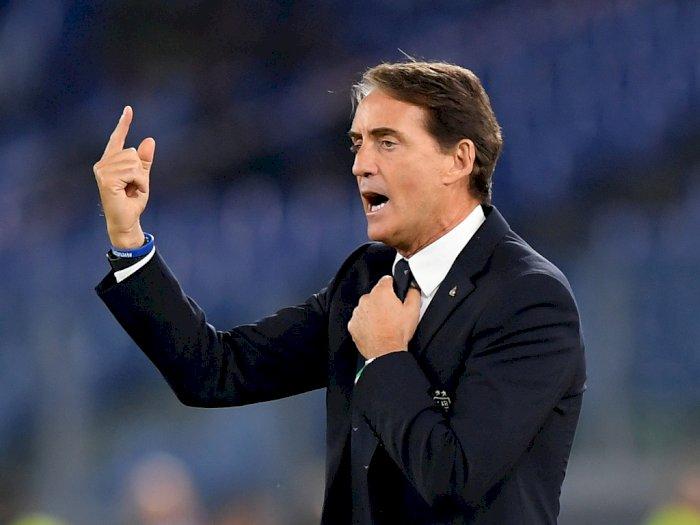 Roberto Mancini Nilai Ditundanya Euro 2020 Justru Keuntungan Bagi Tim Muda Italia