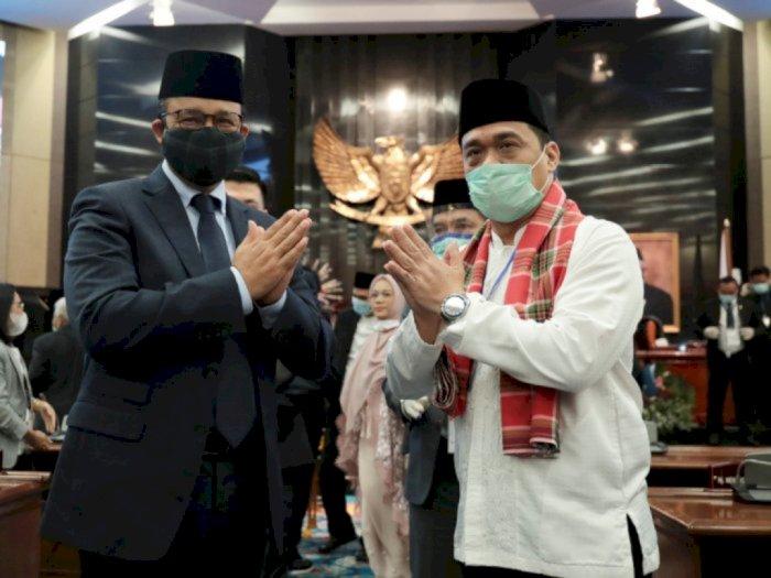 Presiden Jokowi Lantik Riza Patria Sebagai Wagub DKI Siang Ini