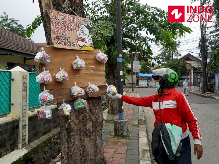 FOTO: Aksi Kebaikan di Tengah Pandemi Virus Corona