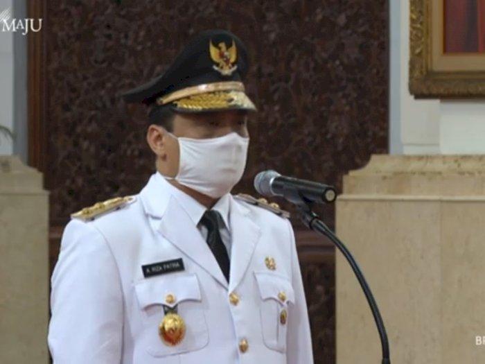 Resmi! Ahmad Riza Patria Jadi Wakil Gubernur DKI Jakarta