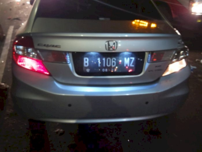 Polisi Tetapkan Sopir Sedan Jadi Tersangka Kecelakaan di Tol JORR