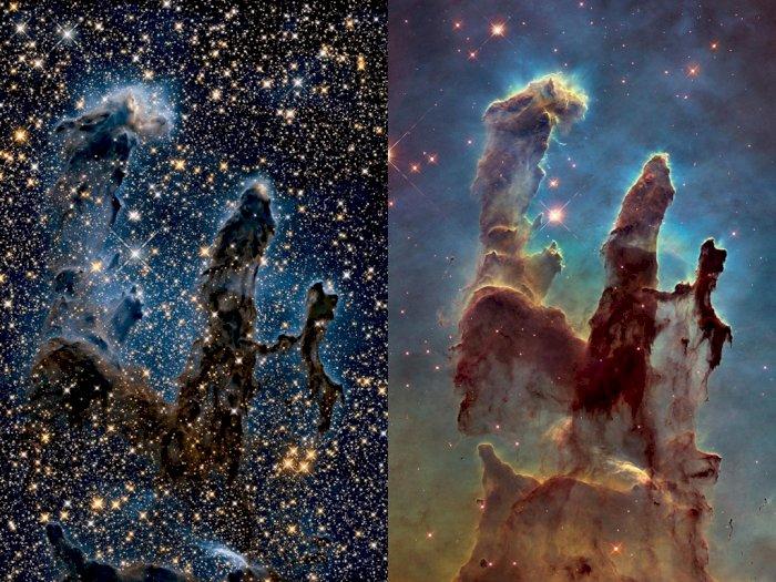 Pilar Penciptaan di Antariksa yang Dirilis NASA Ini Bikin Netizen Terpukau!