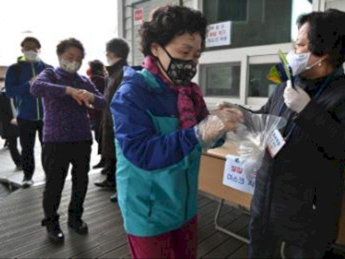 Pandemi Corona, Korea Selatan Jadi Negara Pertama yang Tetap Gelar Pemilu