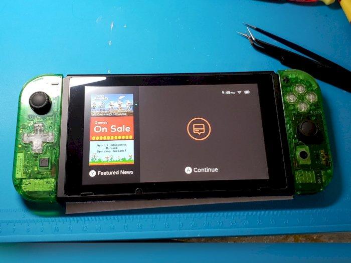Semakin Langka, Pria Ini Inisiatif untuk Rakit Nintendo Switch Sendiri
