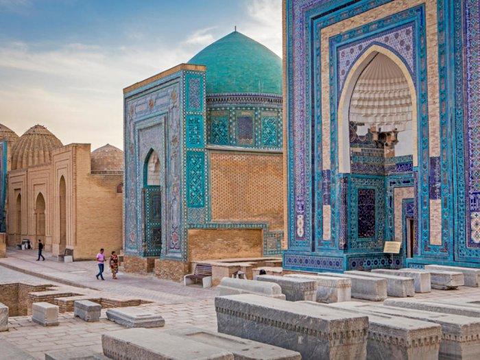 Situs Bersejarah Shah-I-Zinda, Pemakaman Besar dari Kota Kuno