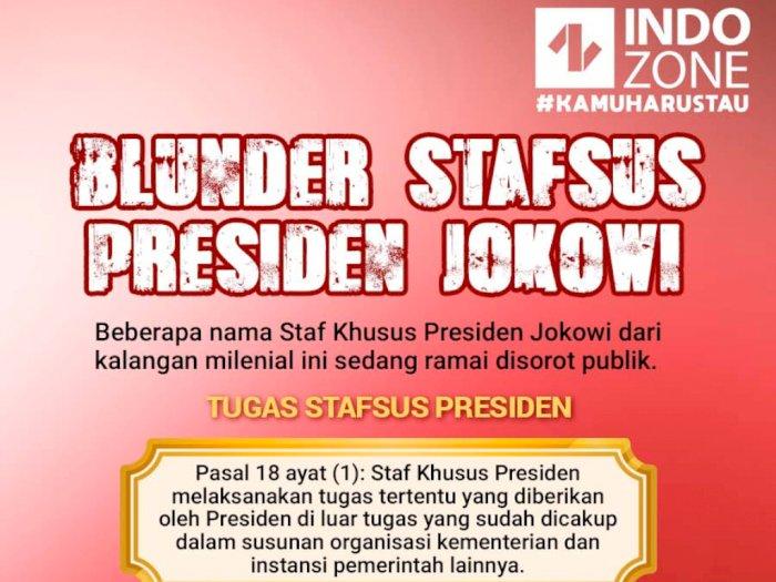 Blunder Stafsus Presiden Jokowi