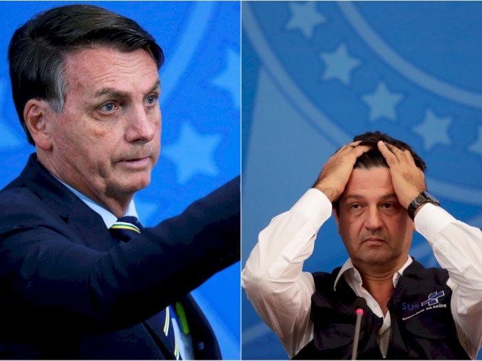 Akhir dari Pertikaian Bolsonaro dan Mandetta Soal Penanganan Corona, Menkes Brasil Dipecat