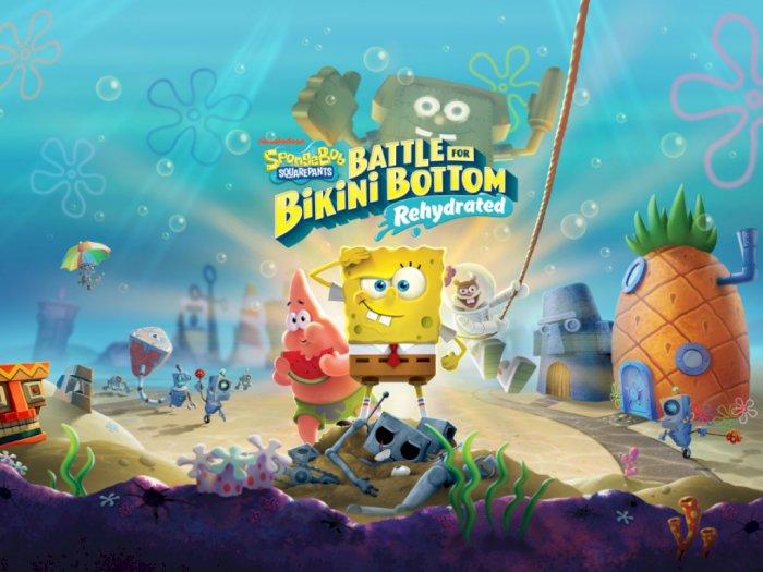Ini Spesifikasi PC dari Game Spongebob Squarepants: Battle of Bikini Bottom Rehydrated!